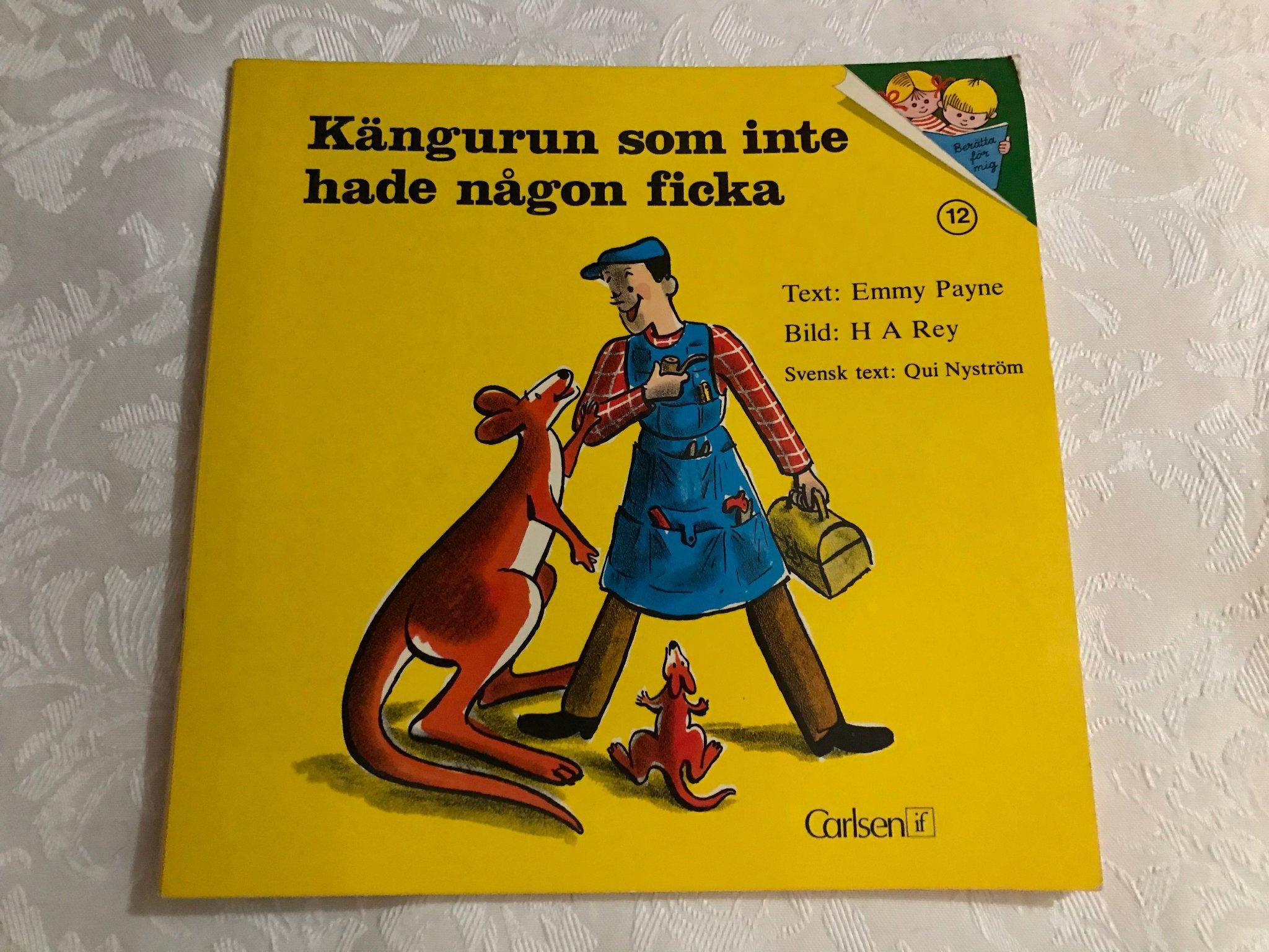 2 barnböcker. Historien om någon Ingen särskild. Klassiker. Retro. barnbok