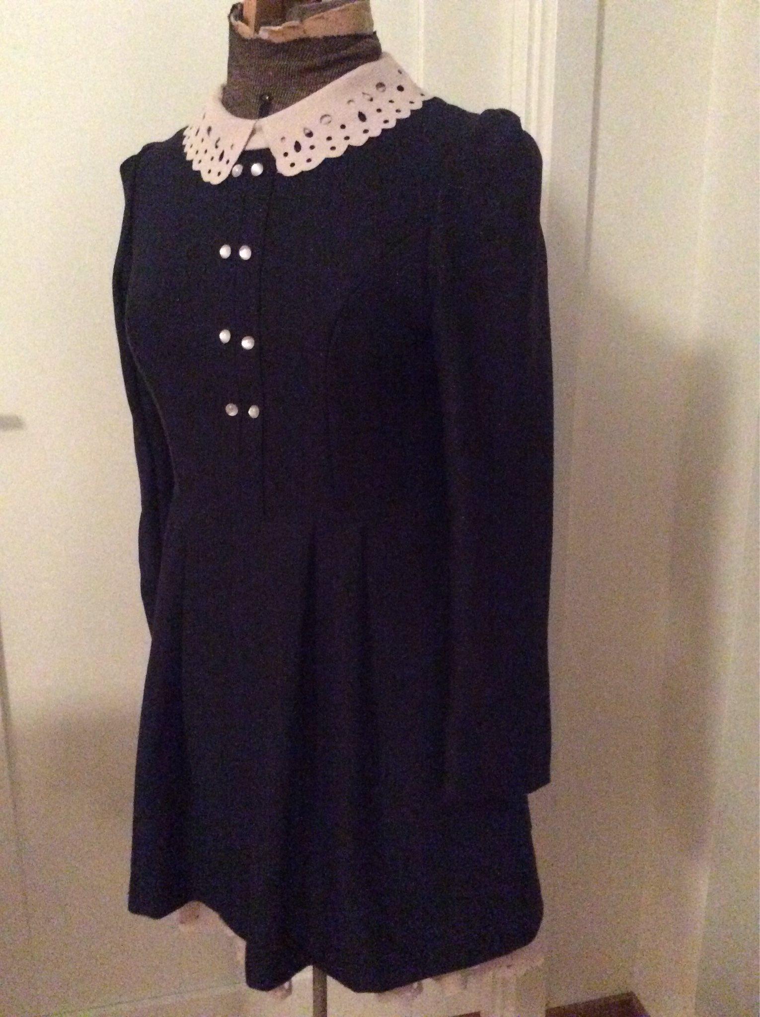 Underbar Vintage klänning 60 tal med Peter Pan .. (336212671) ᐈ Köp ... cc604e5eb18c2