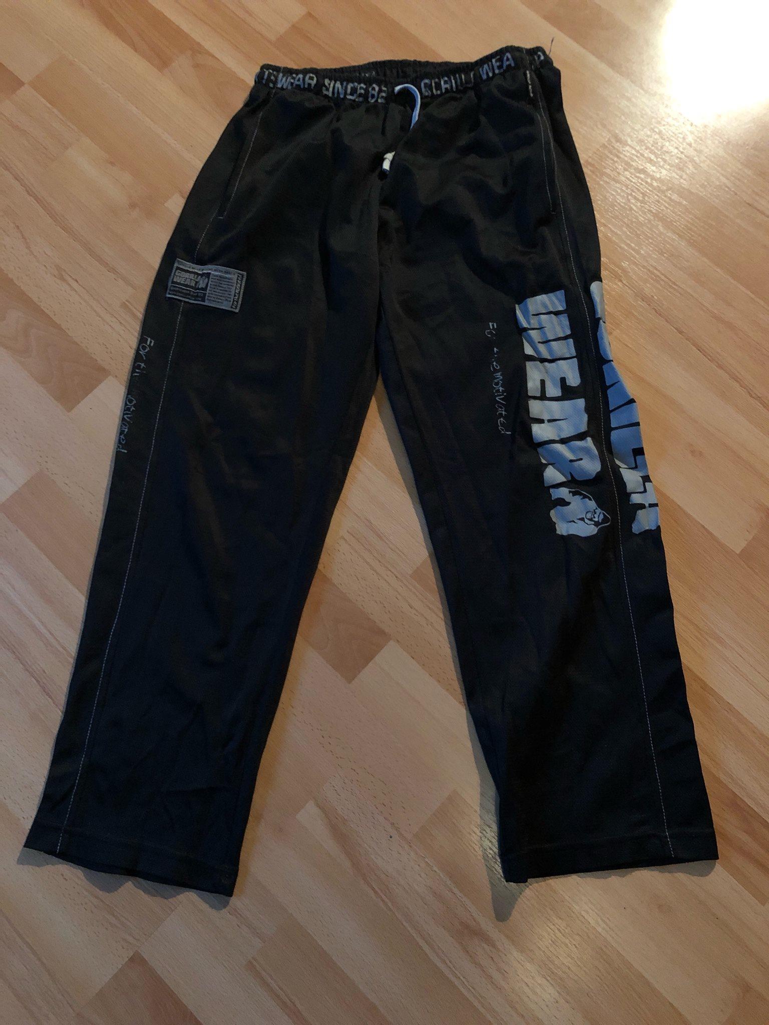 Gorilla wear gym byxor (337376113) ᐈ Köp på Tradera 9ab4692416400