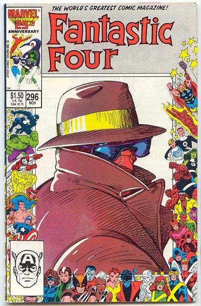 Fantastic Four # 296 VF-NM