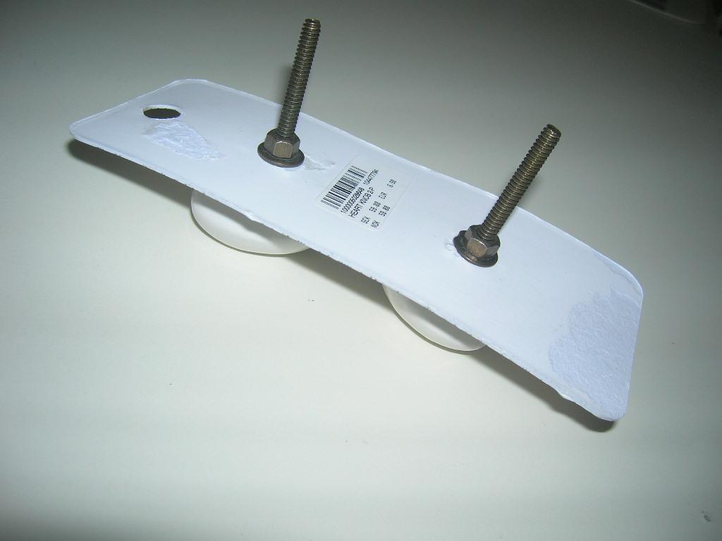 INDISKA 2-pack vita hjärtformade knoppar, shabby chic på Tradera.com -