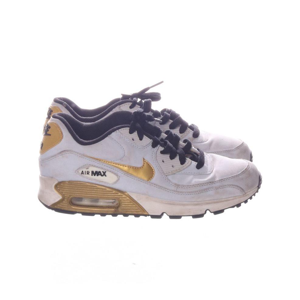sports shoes b3e64 0782b Nike, Sneakers, Strl  40, nike air max, Vit Guldfärgad