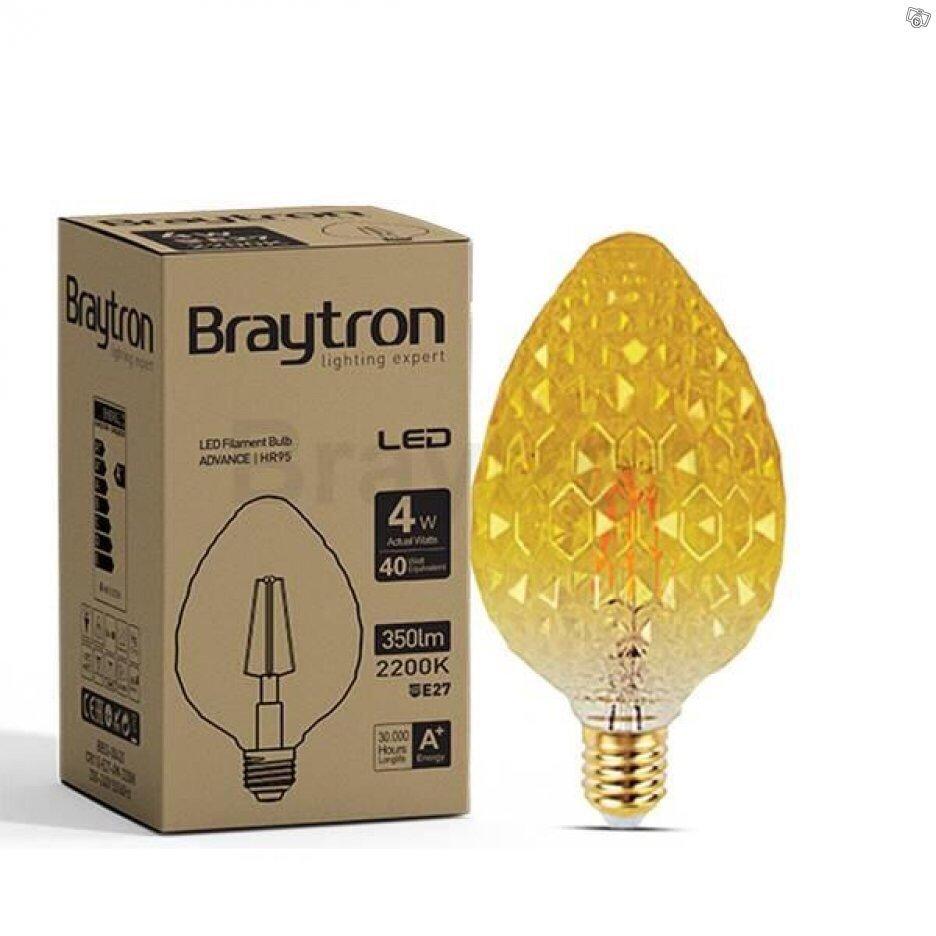 LED lampa i glas konstdesign 4 stycken för 249.. (399555434