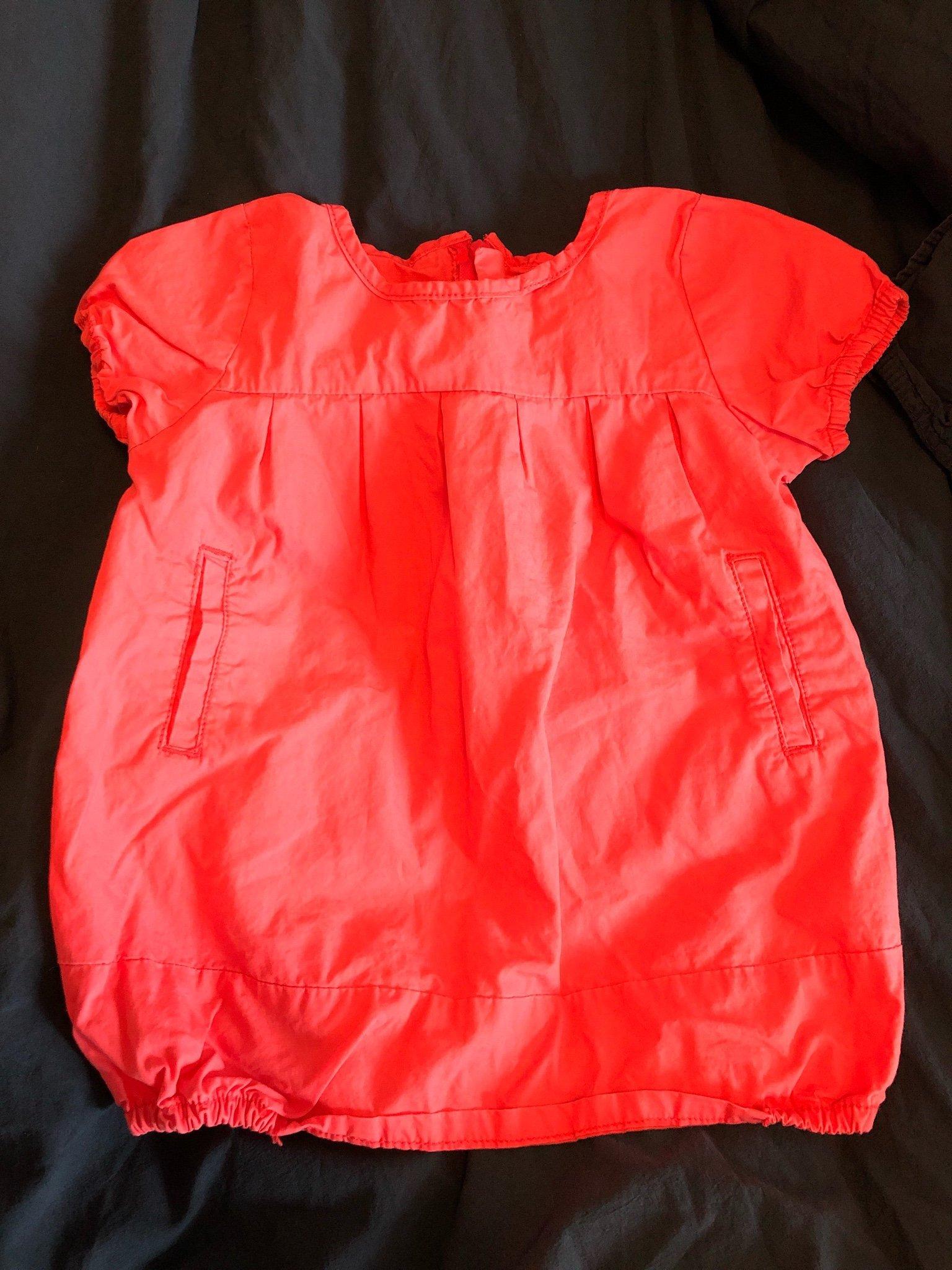 430dd0d891f2 Ballongklänning från NameIt strl 74 i rosa (354925405) ᐈ Köp på Tradera