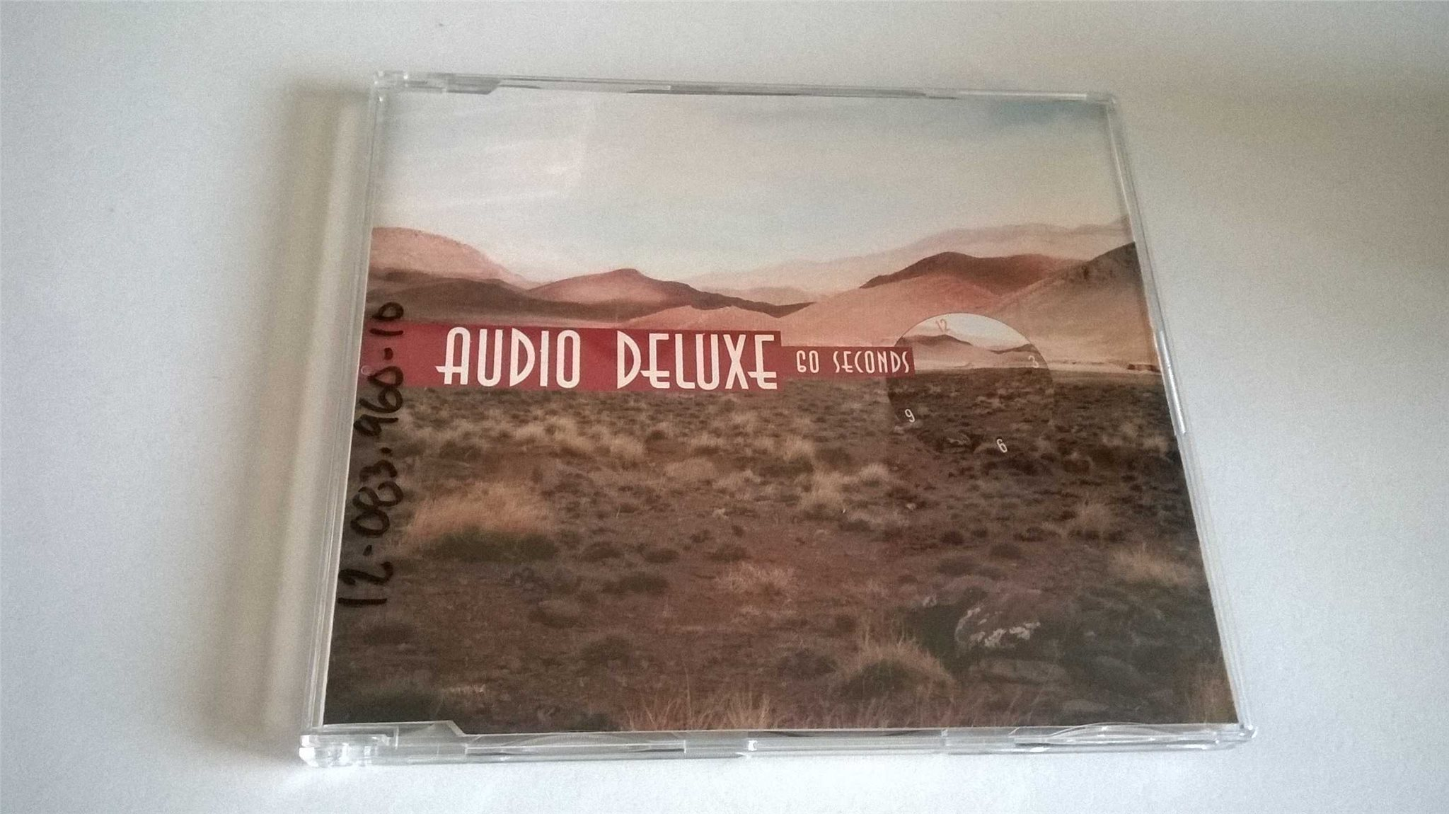 Audio Deluxe Go Seconds, CD