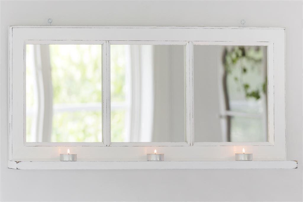 Fönster spegel med hylla på Tradera com Hallmöbler Möbler Hem