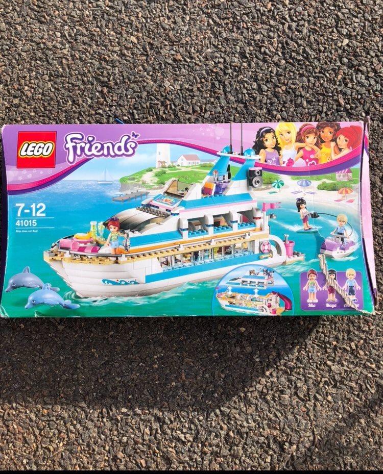 Strålende Lego Friends båt (331000490) ᐈ Köp på Tradera UF-06