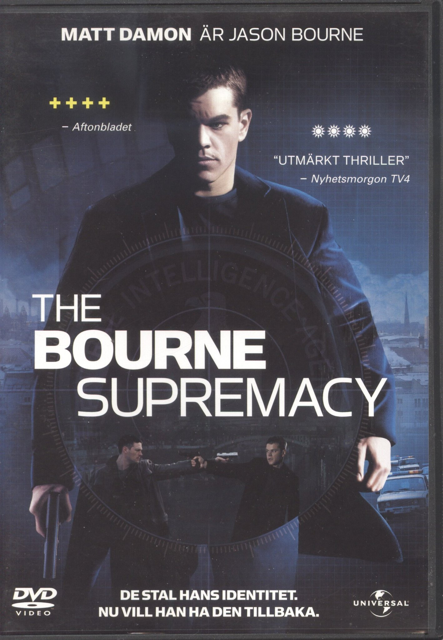 The Bourne Supremacy + Extra material (1-disc)