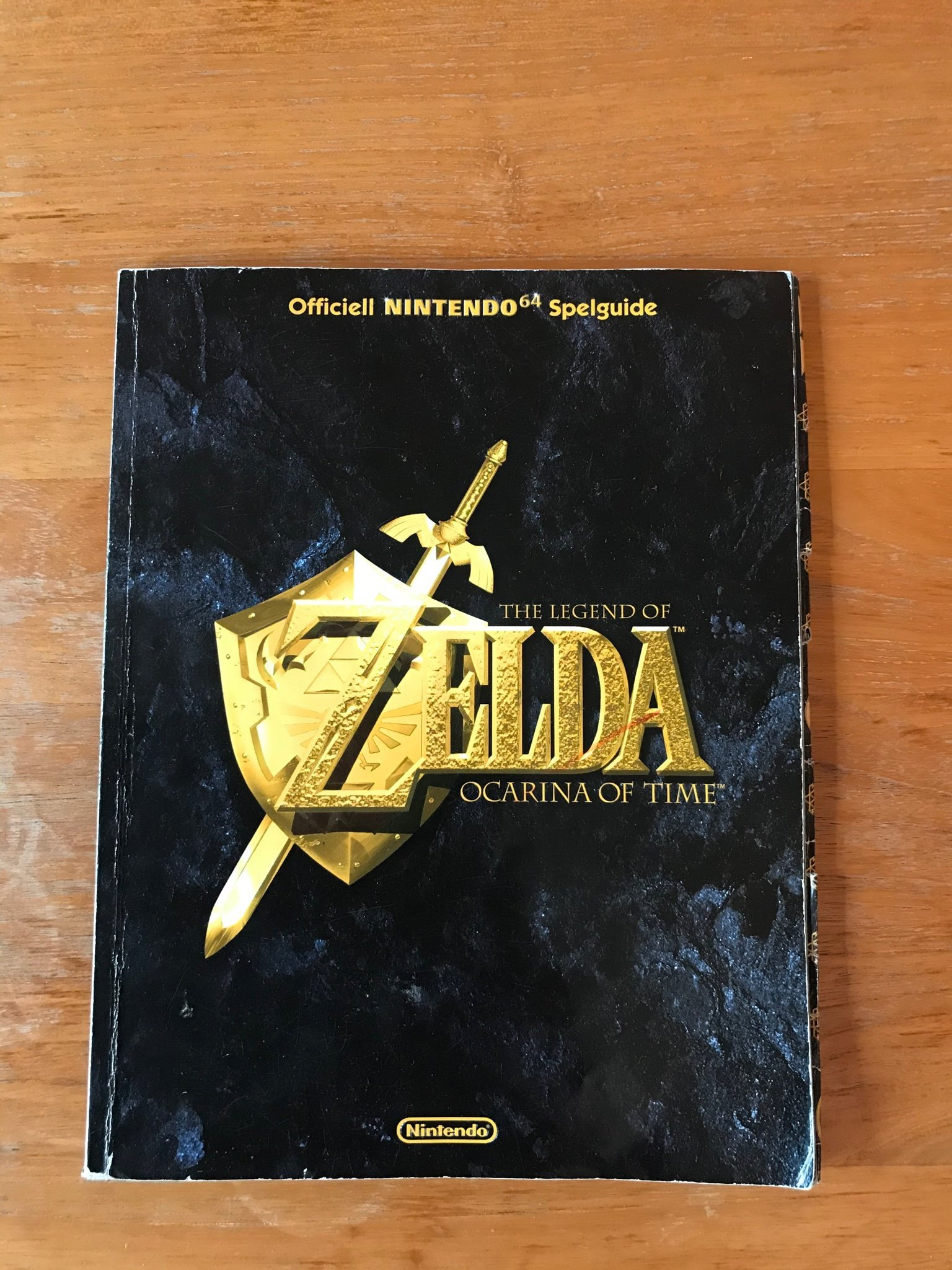 Zelda Ocarina of Time Officiell Nintendo64 Selguide Svenska
