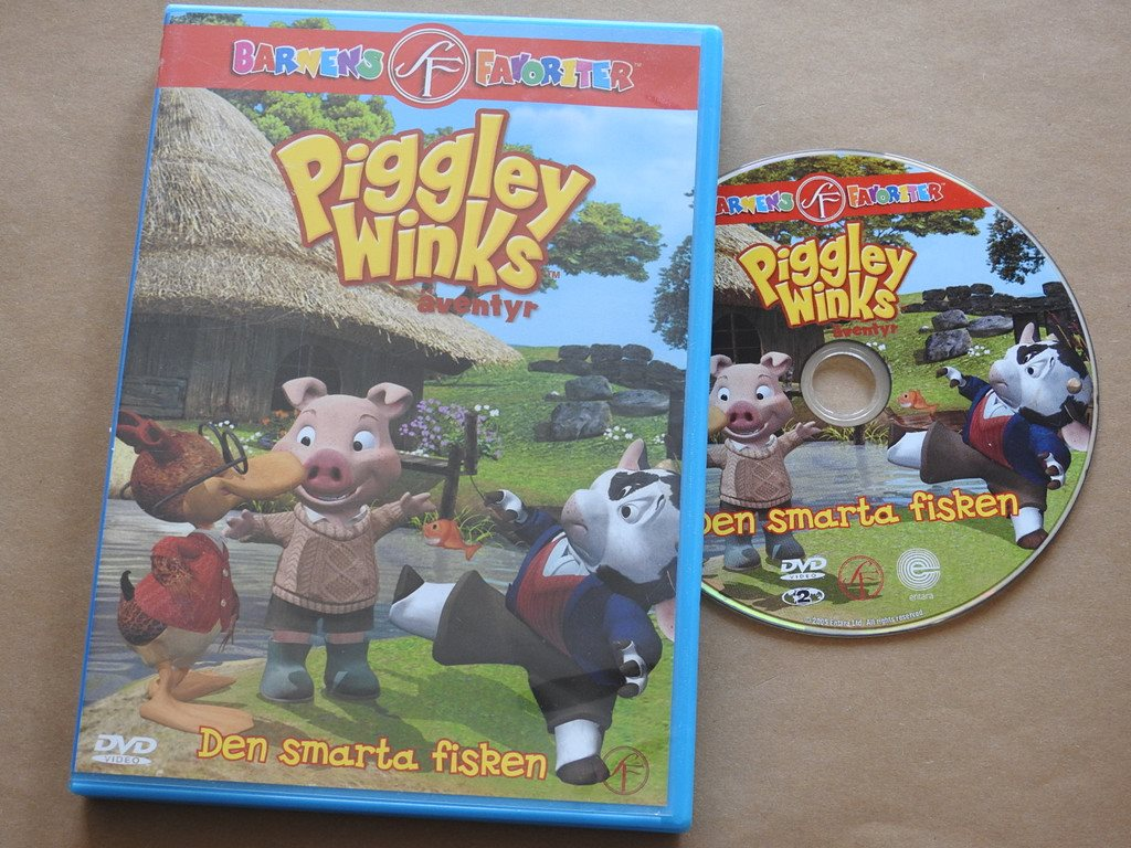 Piggley Winks äventyr - Den smarta fisken DVD (.. (310712870) ᐈ Köp ... 8d34a942d25b9