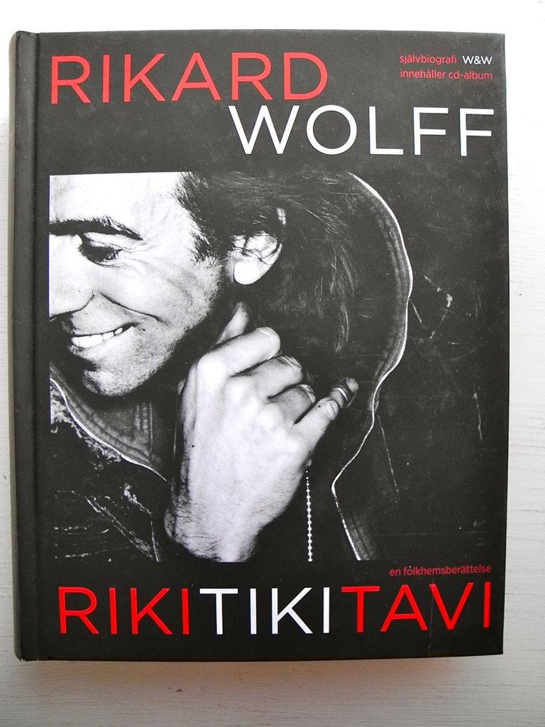 RIKITIKITAVI Rikard Wolff 2011 med cd