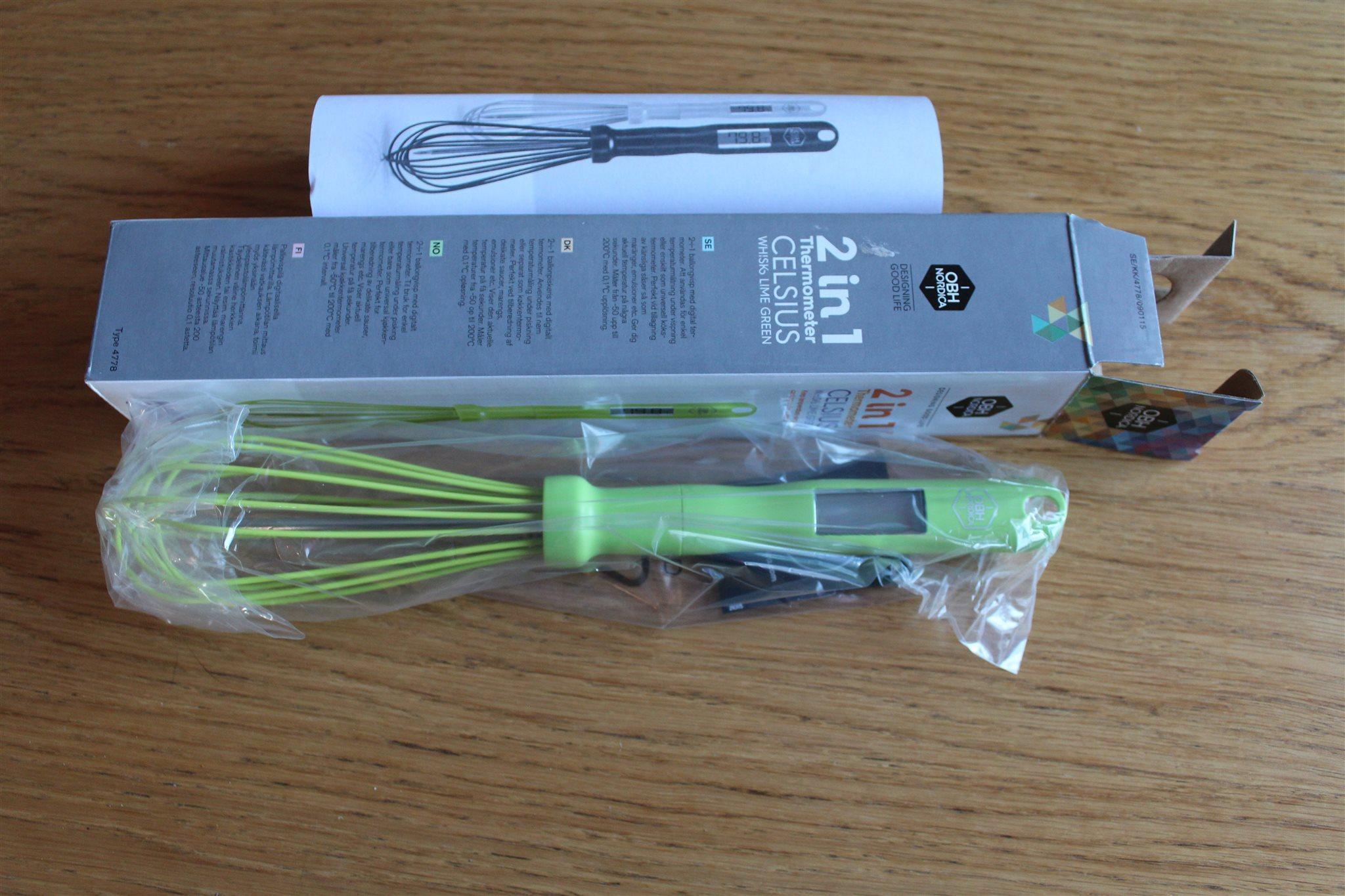 Ballongvisp med termometer OBH Nordica (334589617) ᐈ Köp på