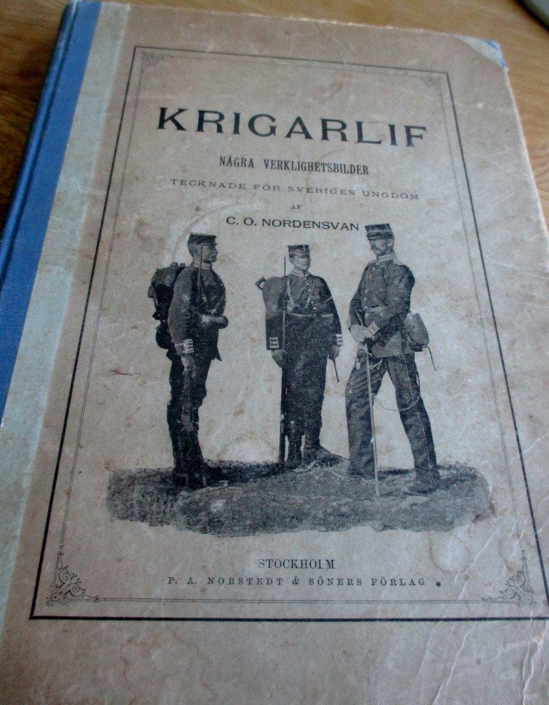 Antik bok, Krigarlif, 1896, C. O. Nordensvan, krigshistoria