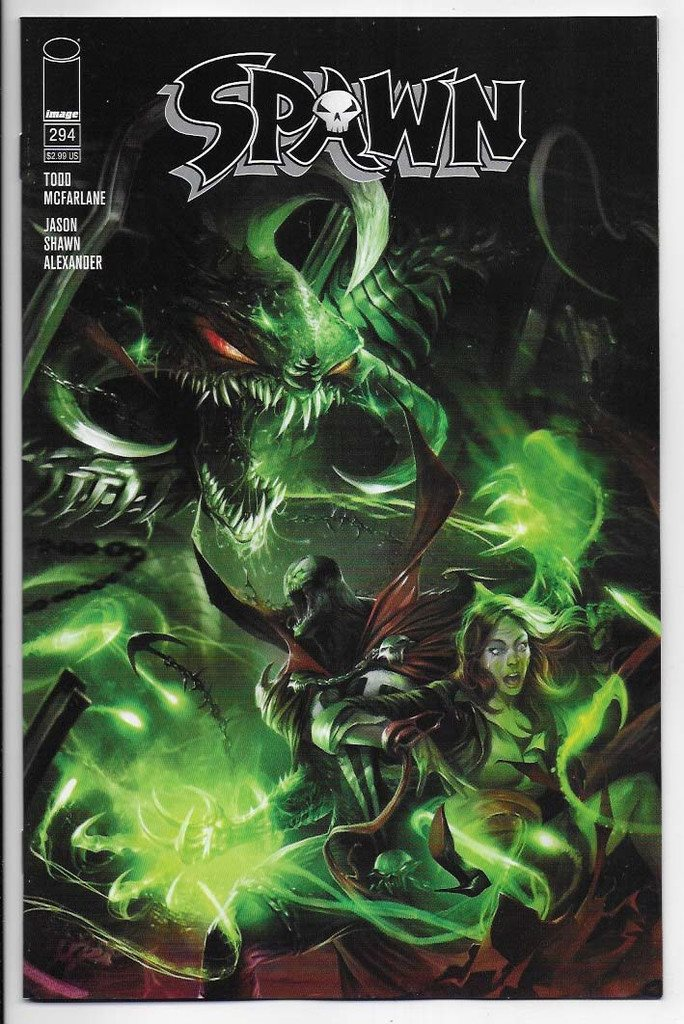 Spawn # 294 Cover A NM Ny Import