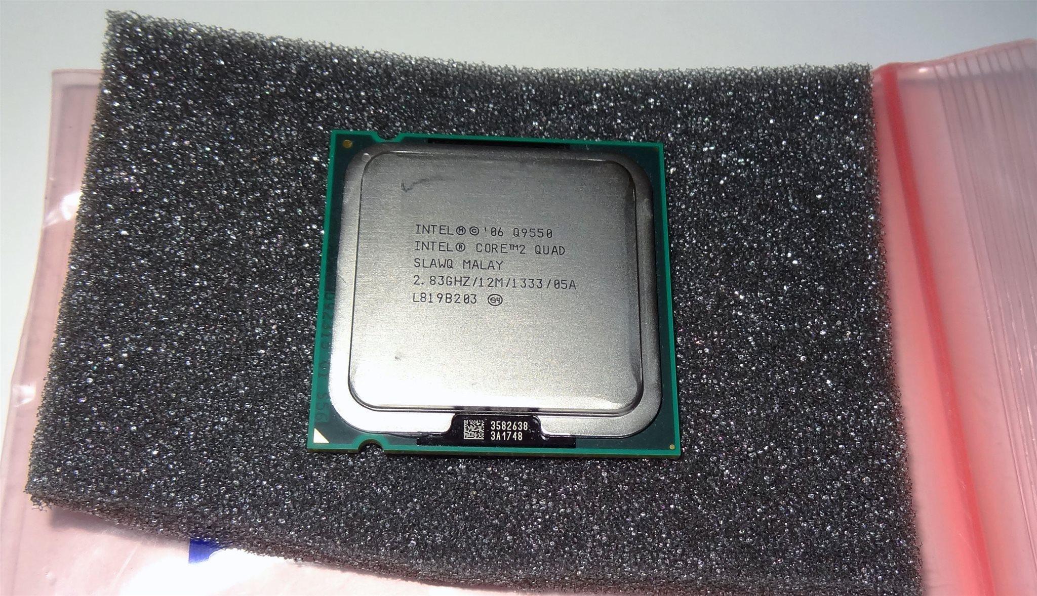 Intel Core 2 Quad Processor Q9550 12m Cache 319449777 Kp Q 9550 283 Ghz 1333 Mhz Fsb