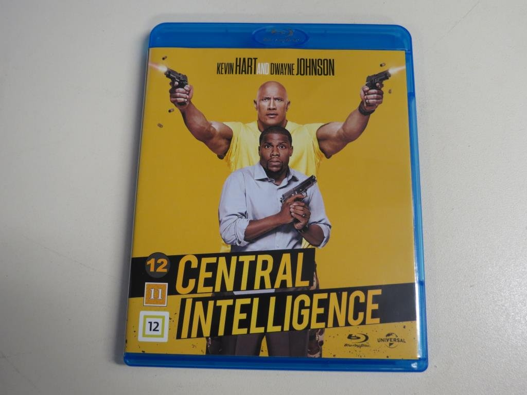 CENTRAL INTELLIGENCE (Blu-ray) Dwayne Johnson