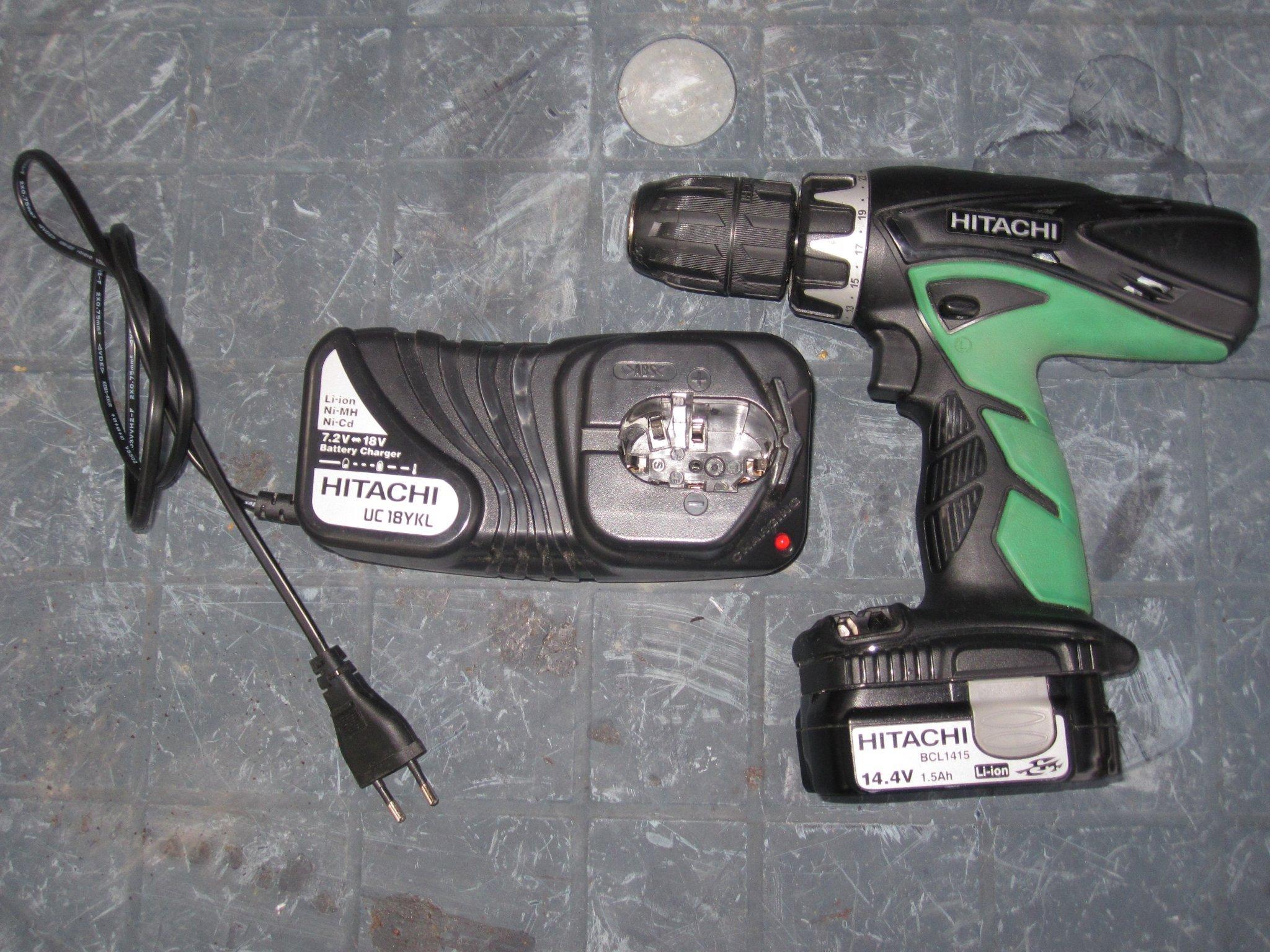 Välkända Hitachi Skruvdragare (356818166) ᐈ Köp på Tradera VJ-09