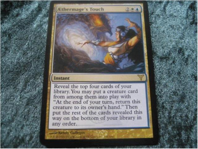AETHERMAGE'S TOUCH RARE (MULTICOLOR DISSENSION) *
