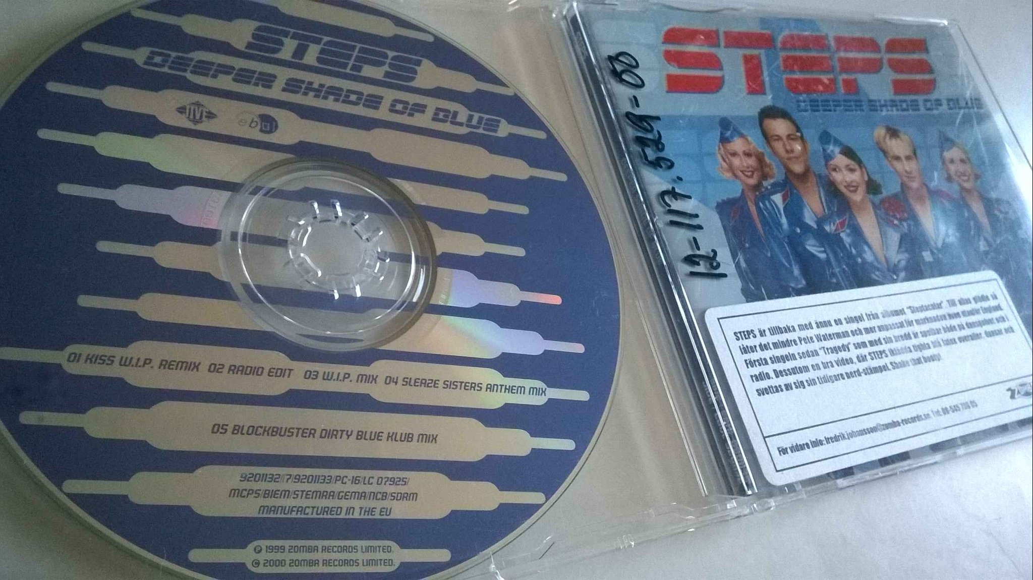 Steps - Deeper Shade Of Blue, CD, Maxi-Single