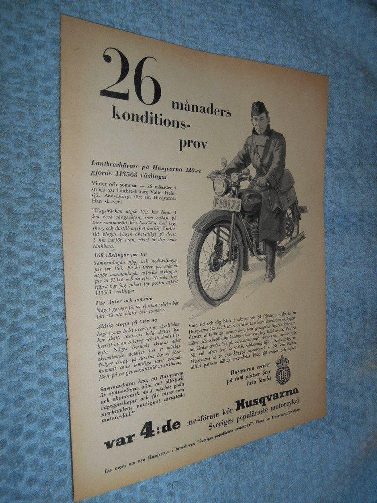 var 4 de mc-förare kör Husqvarna Motorcykel Lan.. (311442004) ᐈ Köp ... dcc961c3f527a
