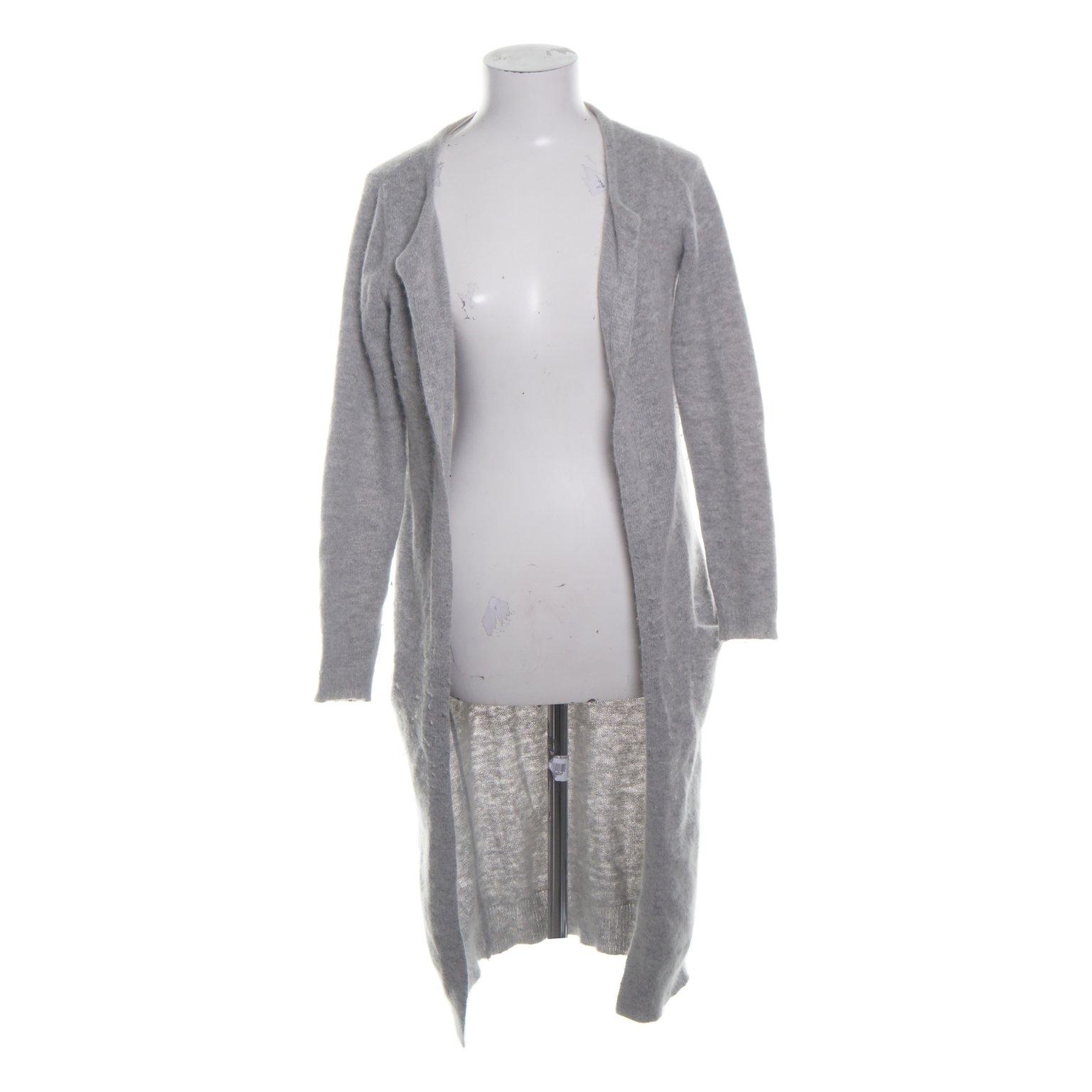 VILA Clothes, Kofta, Strl: XS, Kimber Long Knit Cardigan, Grå