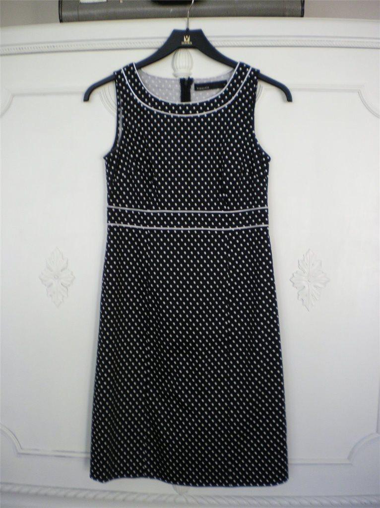 polka dot klänning