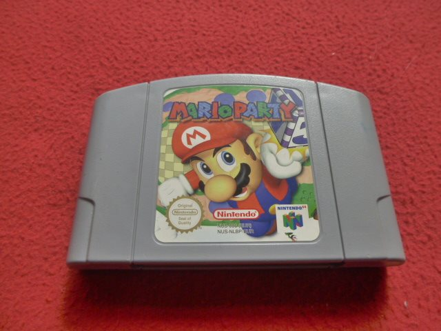 MARIO PARTY till Nintendo 64 N64