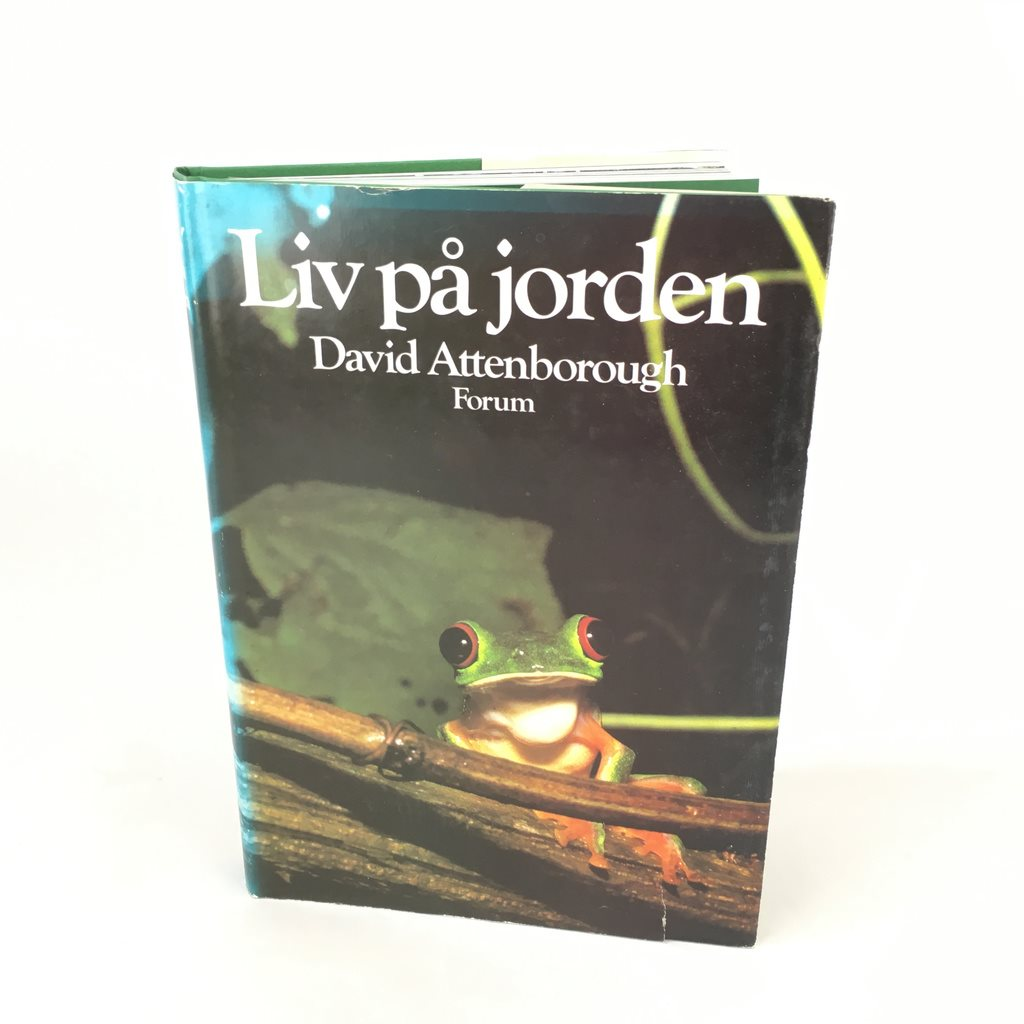 Liv på jorden David Attenborough ISBN 9137072161