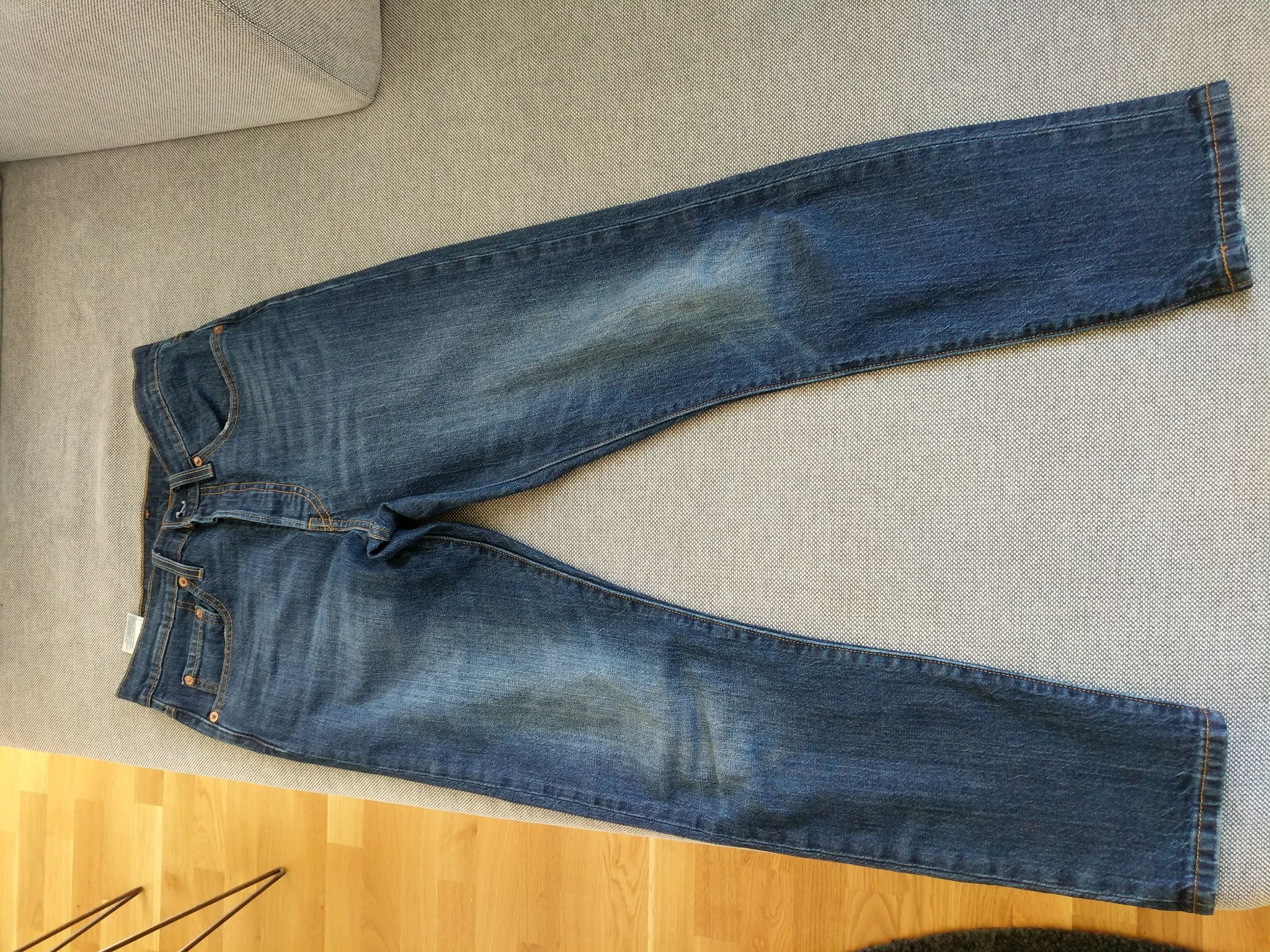 e42f221be8d Levis jeans, 501 Slim, storlek 27/28 (350751493) ᐈ Köp på Tradera