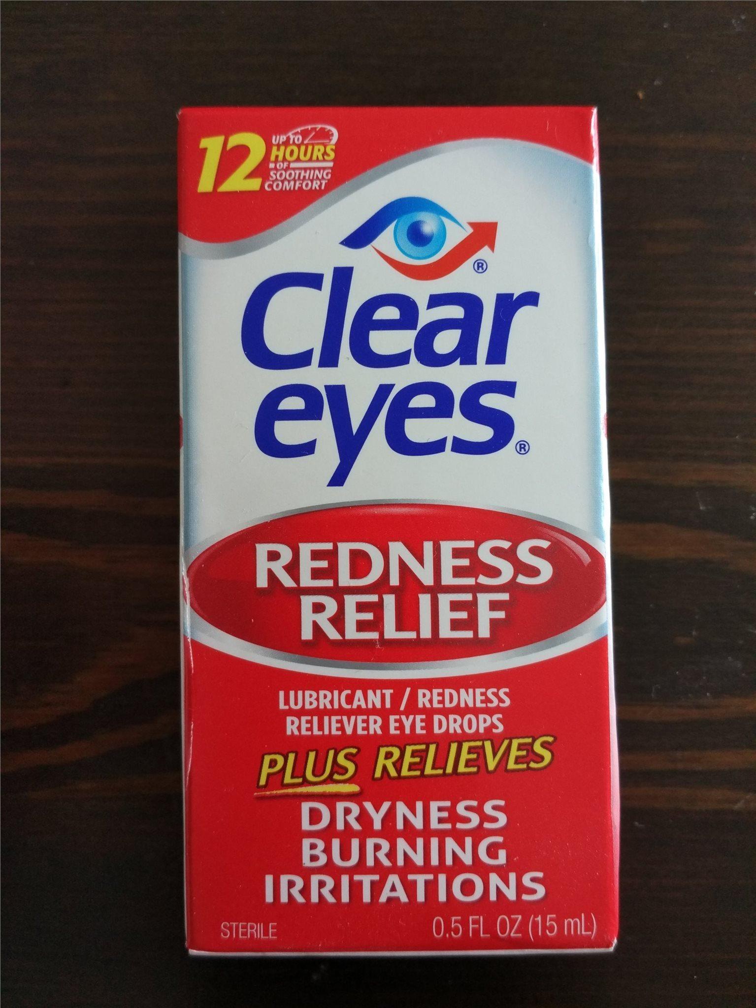 red eyes ögondroppar