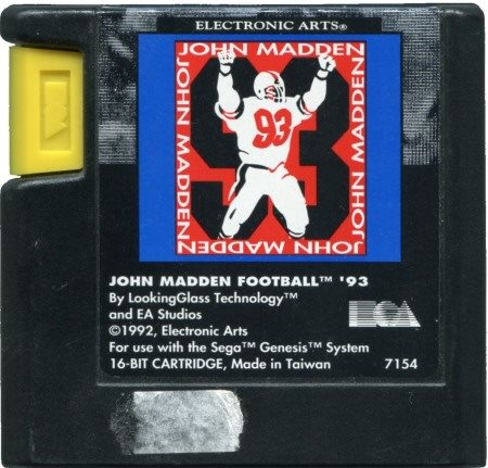 John Madden Football 93 (USA) (Beg)