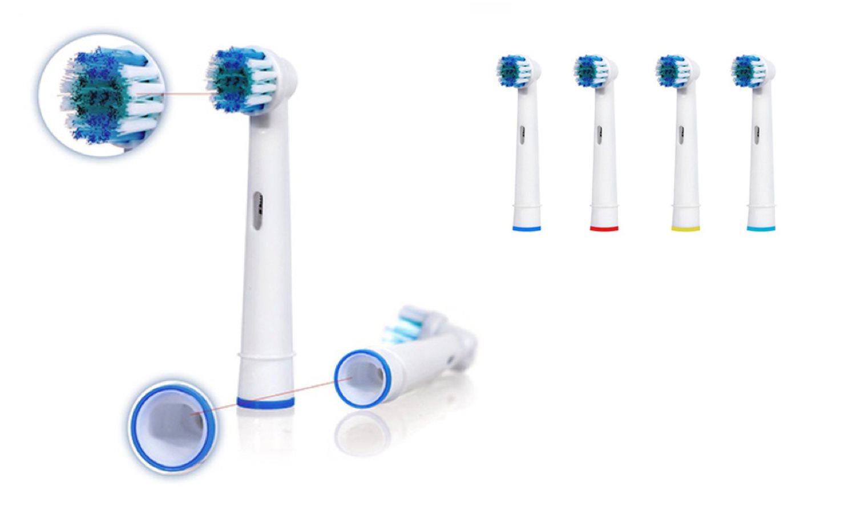 Tandborsthuvud för Oral B - 4st (308407325) ᐈ AlboeBox på Tradera ef909b031b29e
