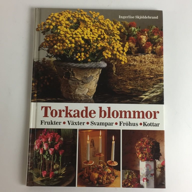 torkade blommor stockholm