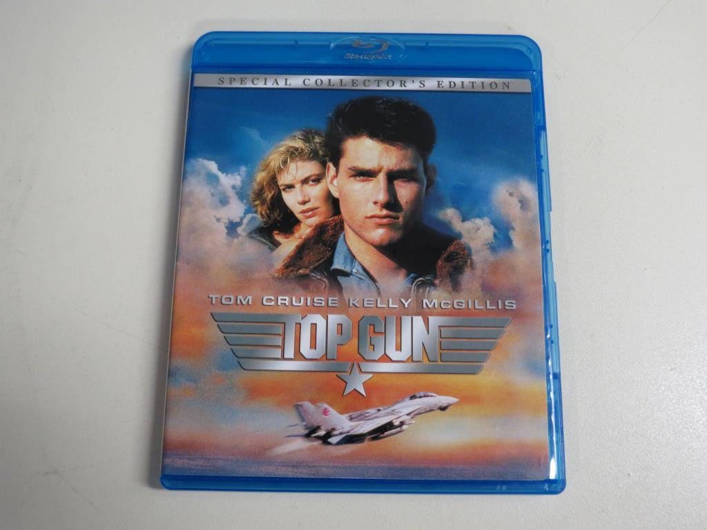 TOP GUN: SPECIAL COLLECTOR'S EDITION (Blu-ray) US Import