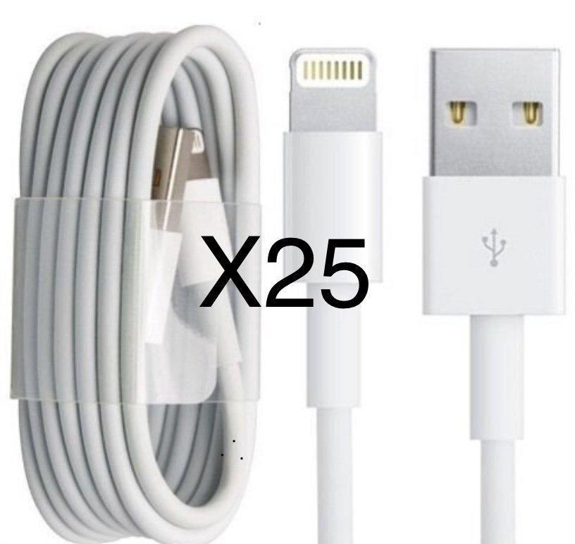 25st iPhone Usb kablar för laddning och överför.. (344240874