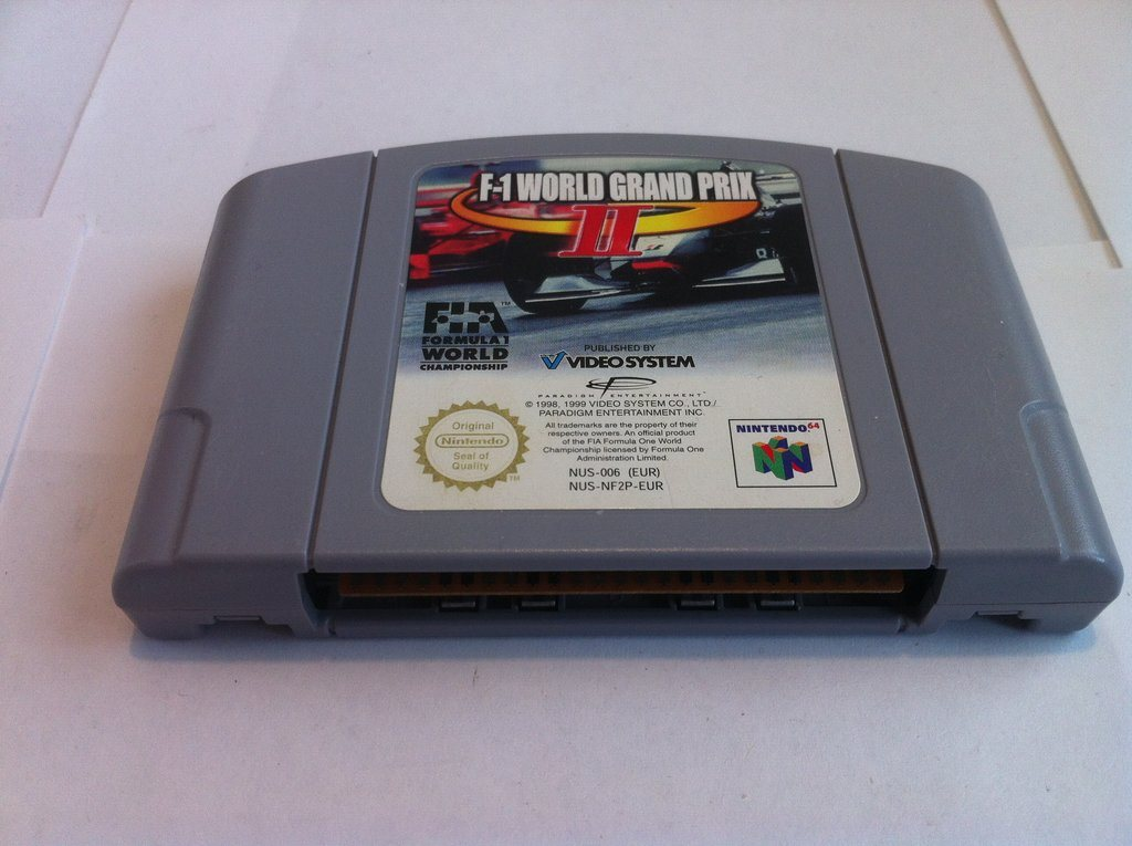 N64: F-1 World Grand Prix 2 (II) (Enbart kassett)