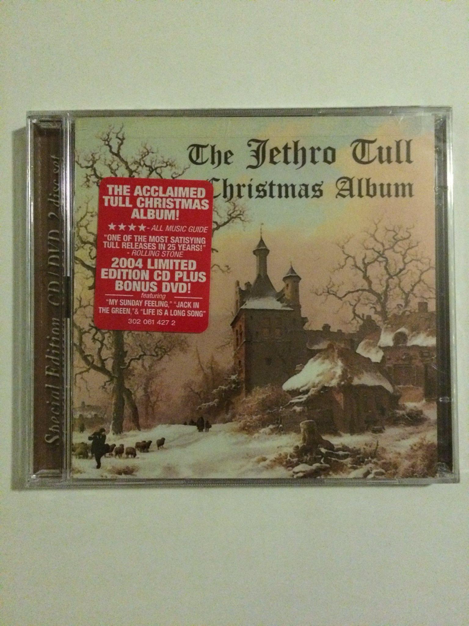JETHRO TULL Christmas album CD/DVD 2DISC SET FUEL USA på Tradera.com -