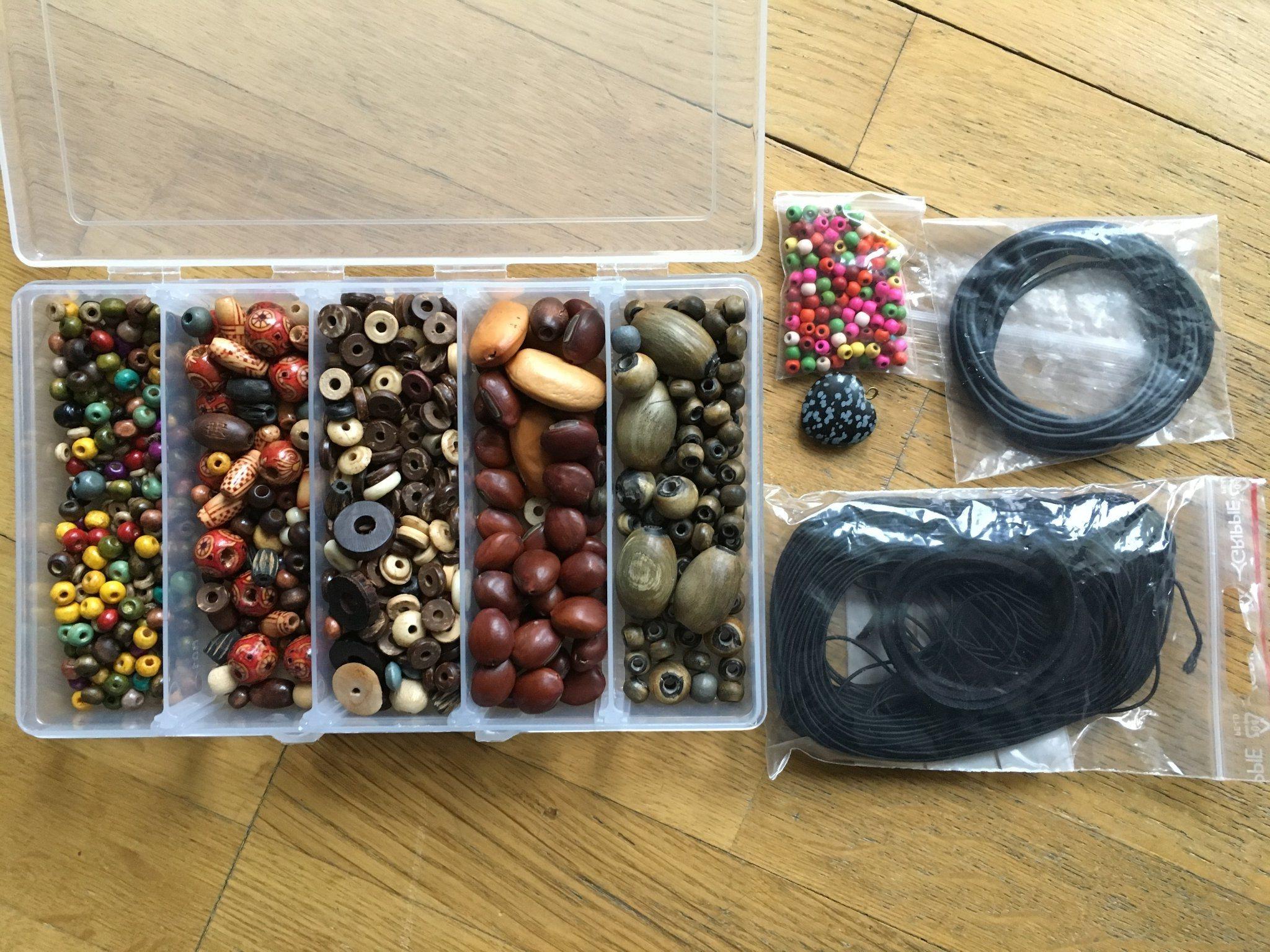 Stort paket för smyckestillverkning 13 - divers.. (340187818) ᐈ Köp ... 800360d0ce50e