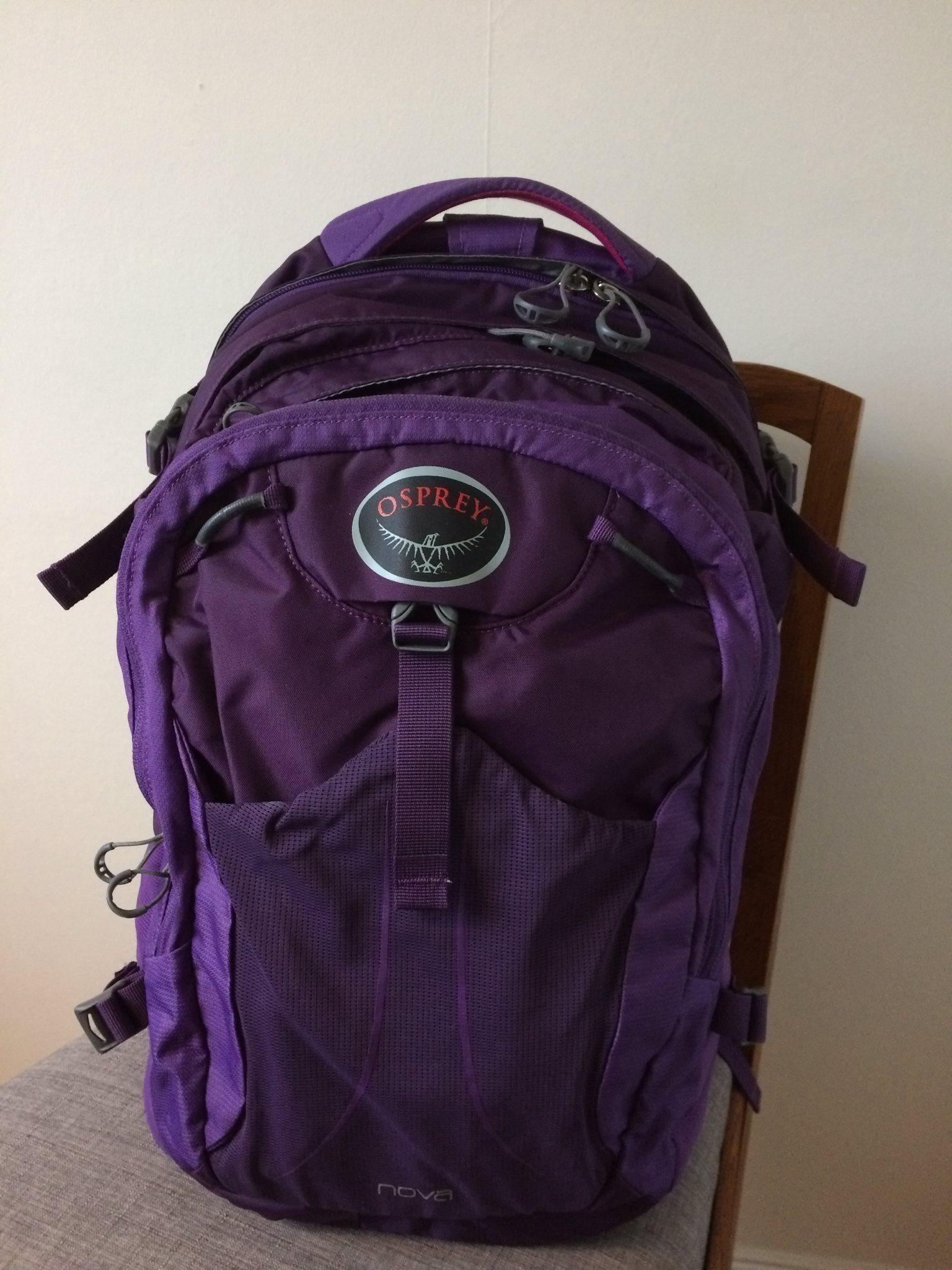 Osprey Nova 30 liter laptop lila ryggsäck (341738603) ᐈ Köp på Tradera e4b30bb30406d