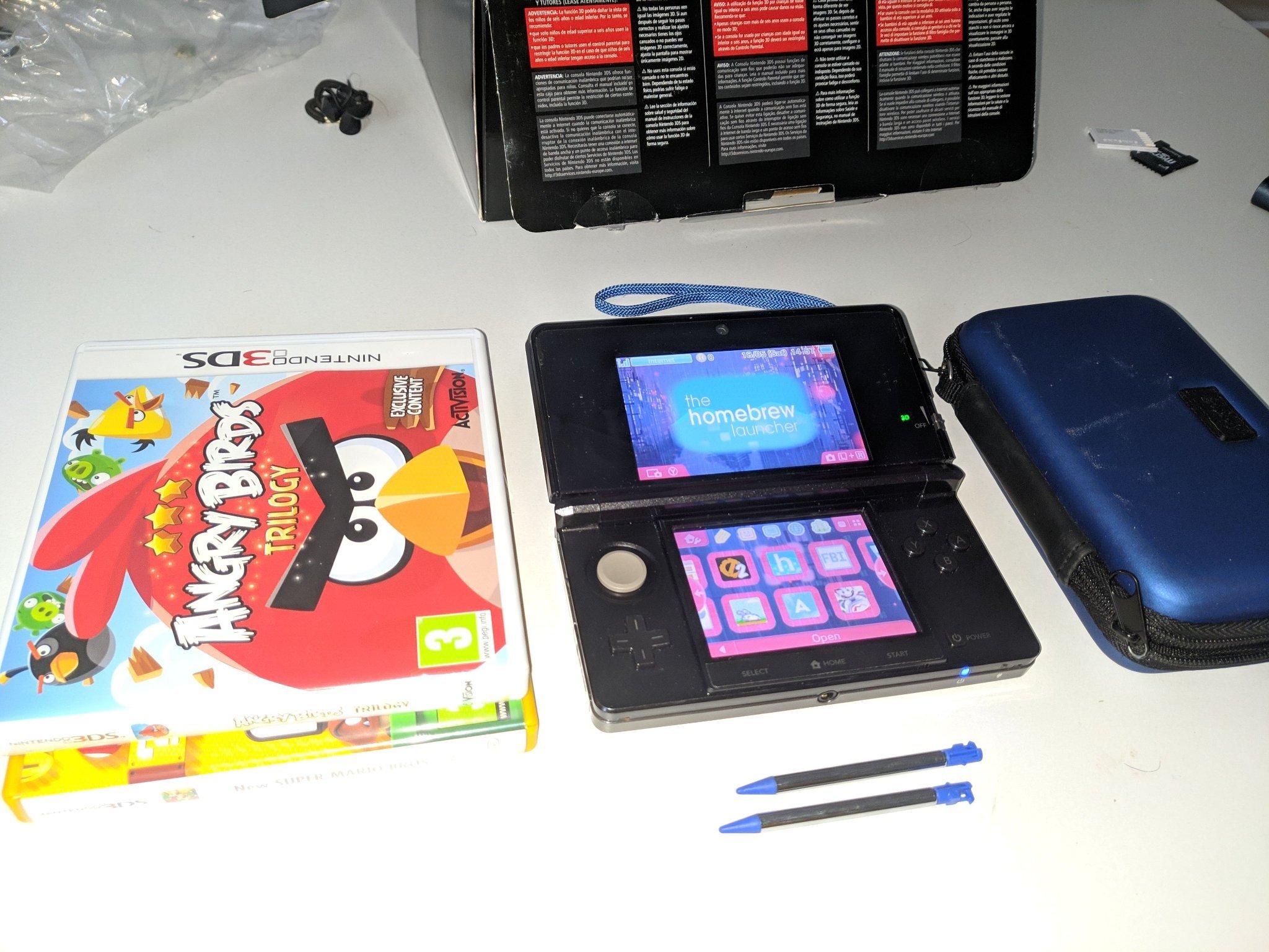 Nintendo 3DS Homebrew Unlocked (351283387) ᐈ Köp på Tradera