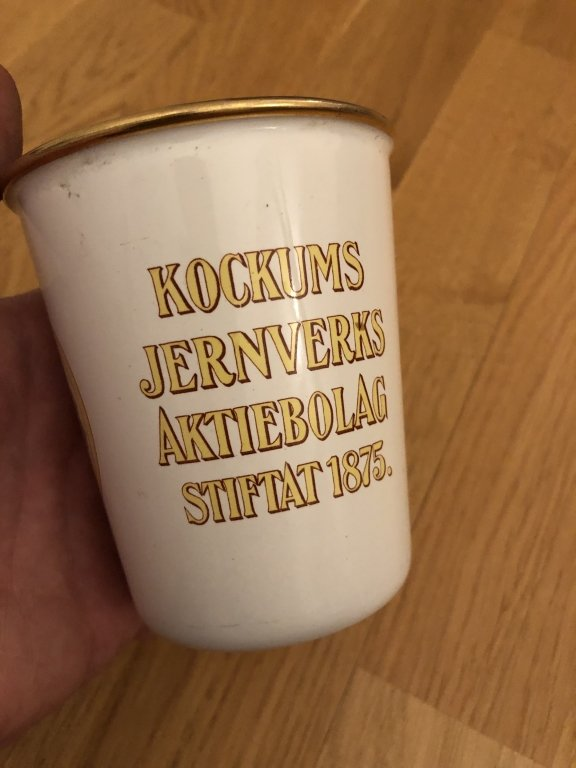 Vacker Kockums minnesmugg 50 år 1925