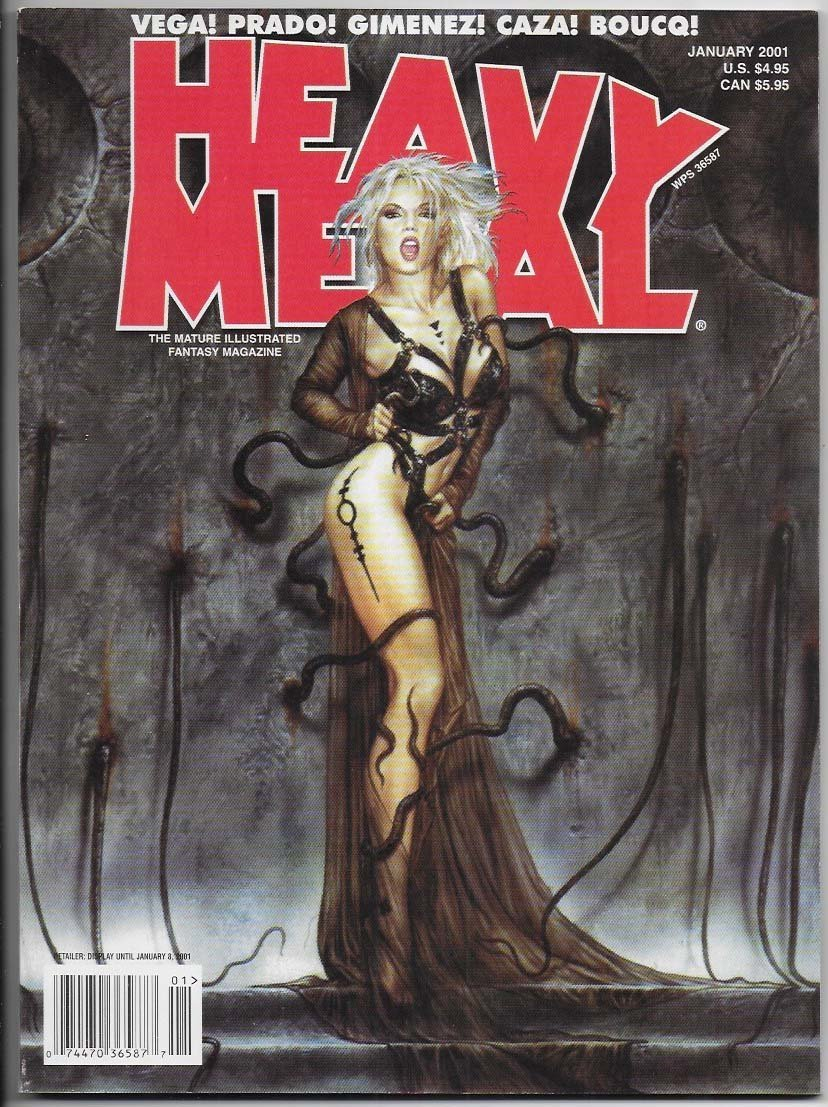 Heavy Metal 2001 January NM-