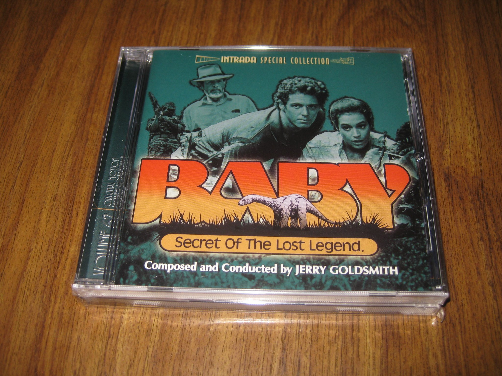 OOPPSS!--JERRY GOLDSMITH:S SCORE TILL BABY--SECRET OF THE LOST LEGEND
