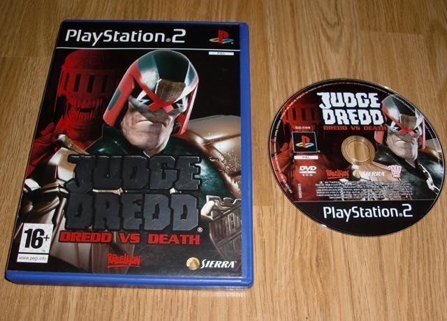 PS2: Judge Dredd Dredd vs Death