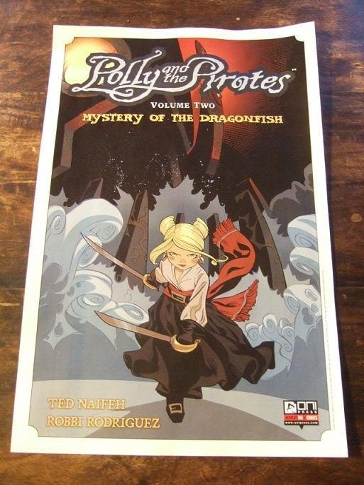 1 ST POSTER / Polly And The Pirates, Volume Two / Ted Naifeh / COMIC POSTER 2012