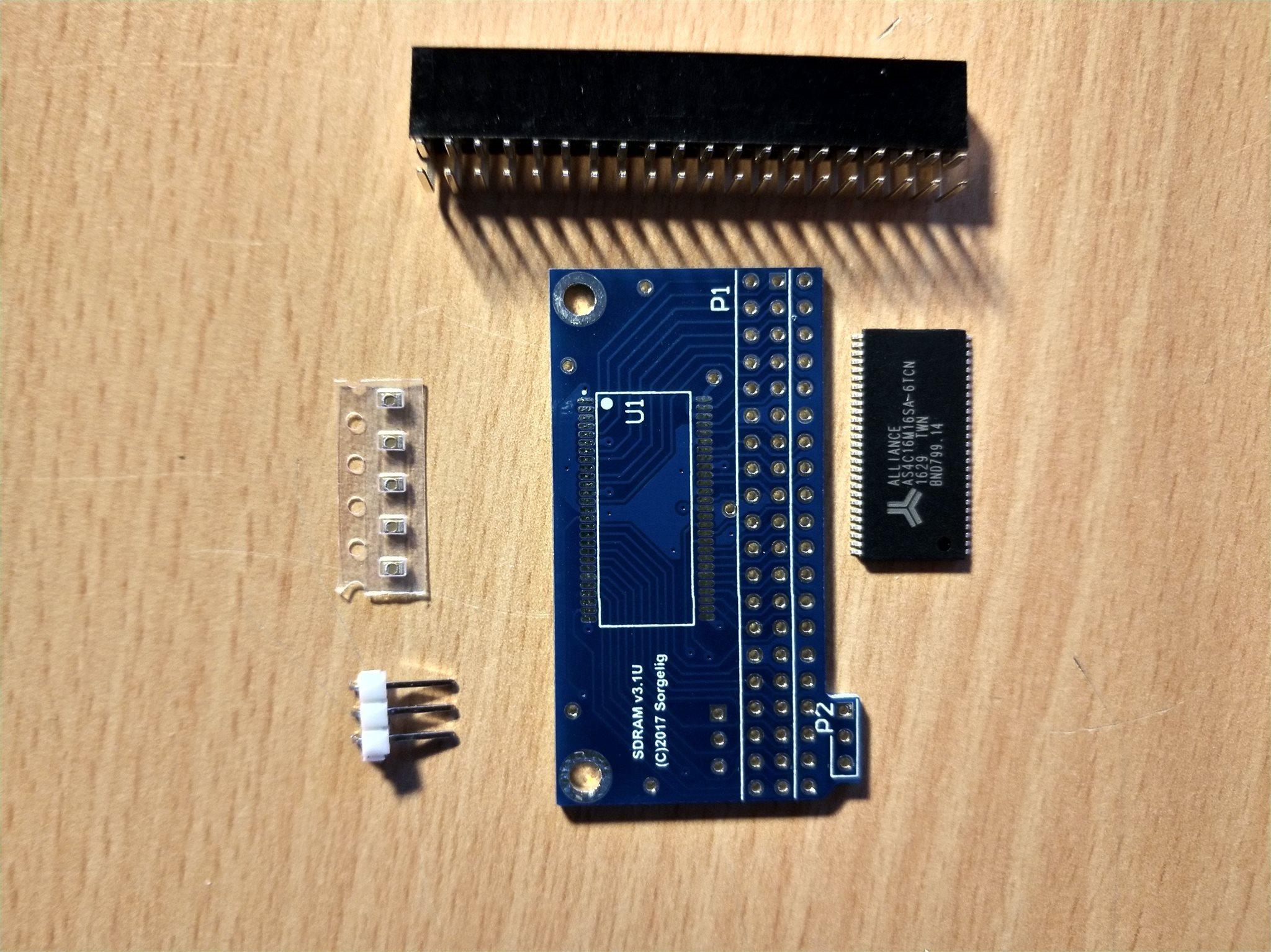 MiSTer SDRAM modul för DE10-nano FPGA byggsats