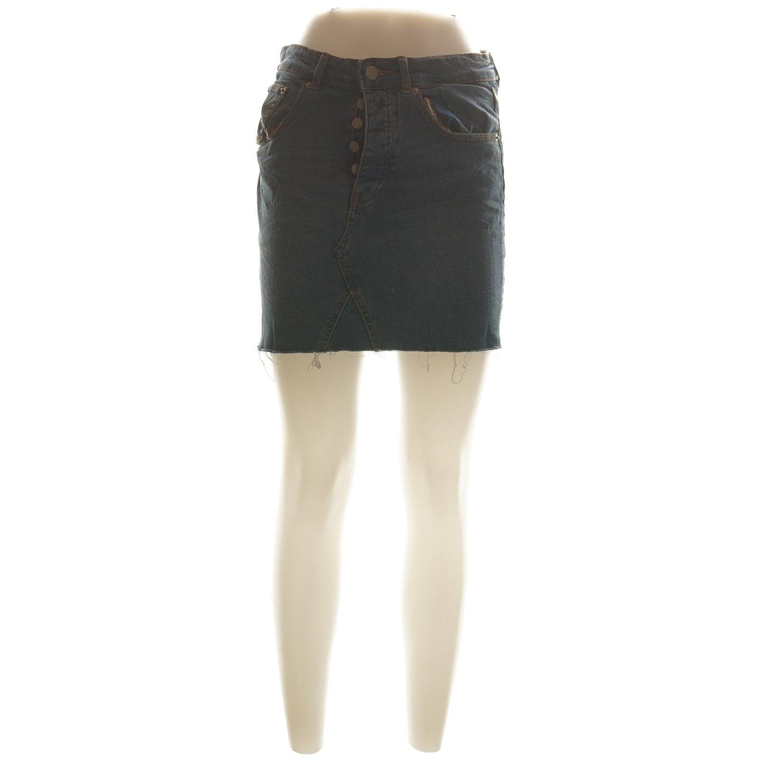 c70b9704c326 Perfect Jeans Gina Tricot, Kjol, Strl: 36, Blå (346064363) ᐈ Sellpy ...