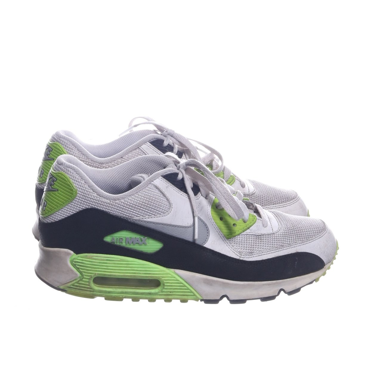 the best attitude 03e57 3640f Nike, Sneakers, Strl  43, nike air , Svart Vit Grön