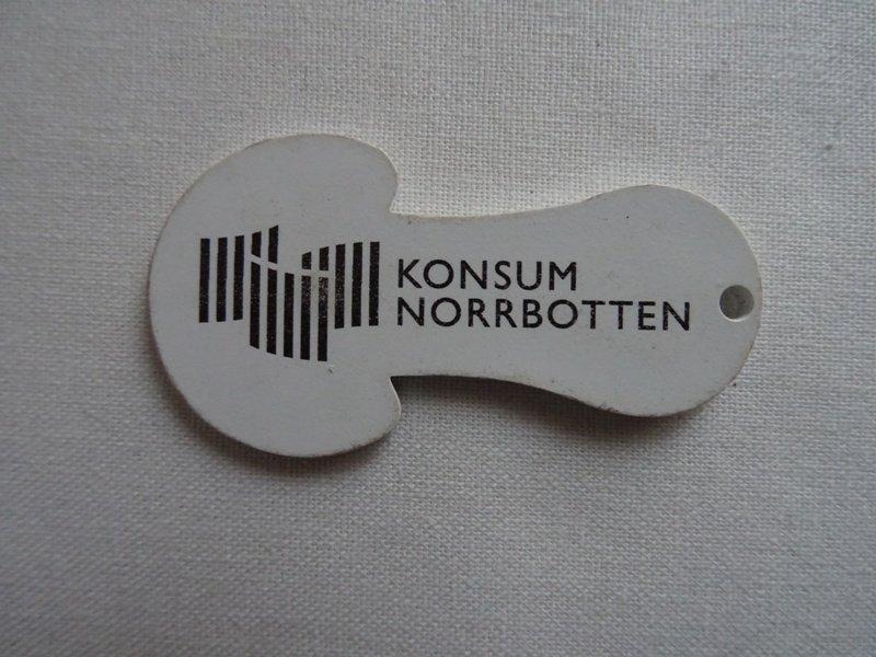 Kundvagnsmynt reklam Konsum Norrbotten (375614410) ᐈ Köp