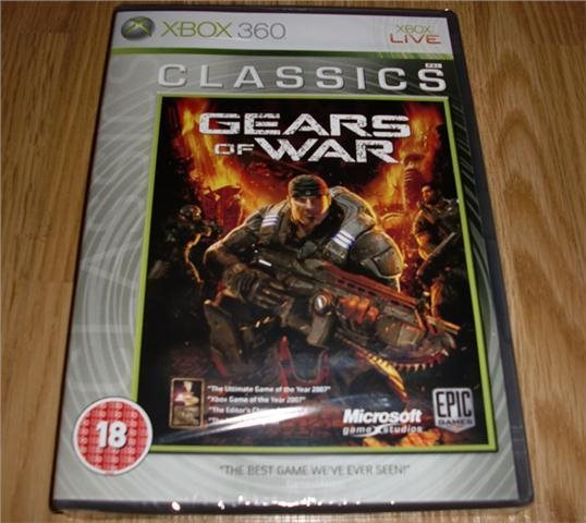 Xbox 360: Gears of War (ny)